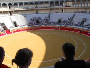 Inside Plaza  de Toros