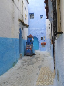 Blue Archway Morocco