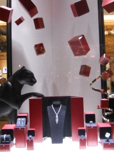 Display at Cartier