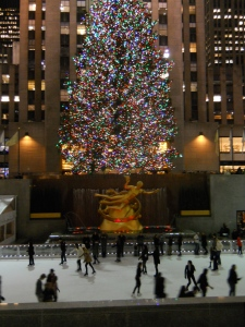 Ice Skating at Rockefeller