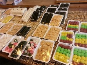 Korean rice cake dessert