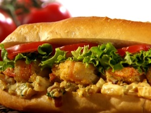 Po' Boy Sandwich Photo Credit: Foodnetwork.com