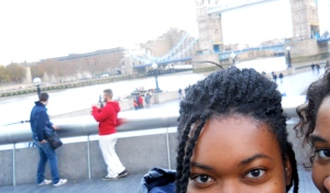 One of many failed selfies with my bff and travel buddy. (London, England)