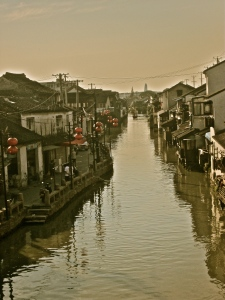 A bridge view of Suzhou  ©thepinkepat