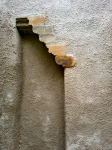 Trick staircase