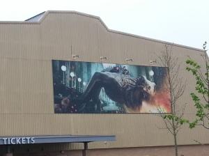 Movie Stills line the Harry Potter Studios