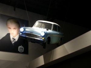 The Flying Ford Anglia