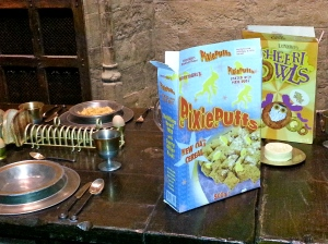 What Gryffindors eat for breakfast