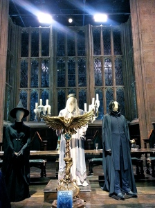 Snape,Dumbledore, and Mcgongall keep watch