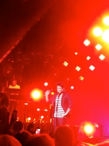Bruno Mars at the Cosmopolitan