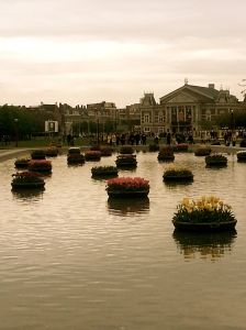 Museumplein Park  in Amsterdam