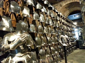 Room of armor