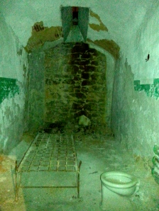 Cell room at Eastern State Penitentiary