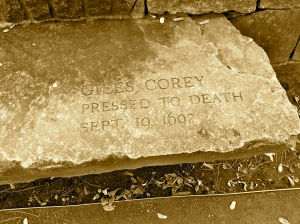 Giles Corey-Pressed to Death-Sept. 19 1692