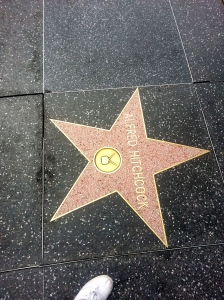 Walk of Fame-Alfred Hitchcock