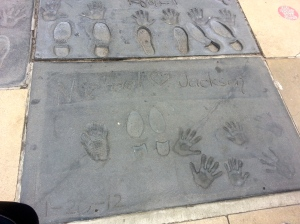michael jackson footprints la
