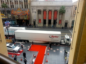 The red carpet-- wonder what the event was ?