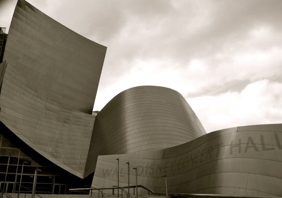 Walt Disney Concert Hall in Los Angeles, LA