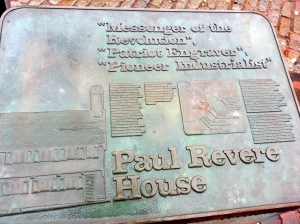 Paul Revere House, boston MA