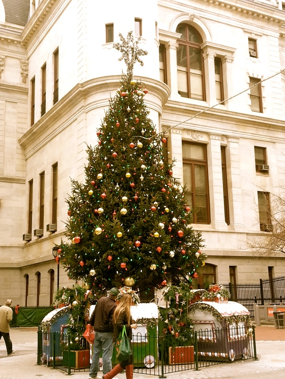 Christmas Tree in Center City Philadelphia