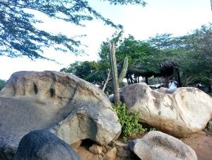 Rock Formation Maze aruba