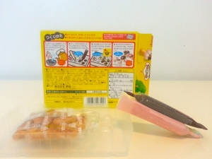 The Kinoko no Yama DIY kit  instructions